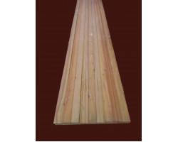 Обрезная доска лиственница (естественной влажности) 25 мм толщ