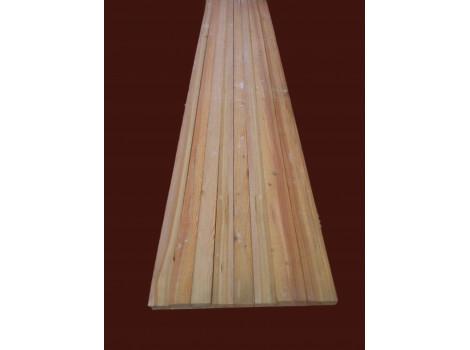 Обрезная доска лиственница (транспортной влажности) 50 мм толщ
