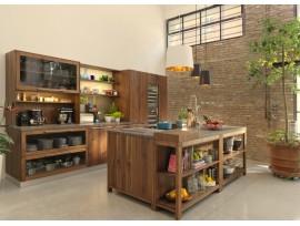 Изготовление кухонного гарнитура из сосны