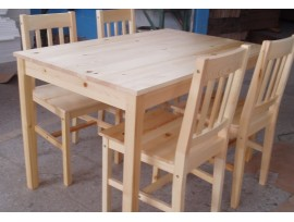 Изготовление стульев из сосны своими руками