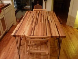 Стол из лиственницы своими руками: размеры, форма, материал