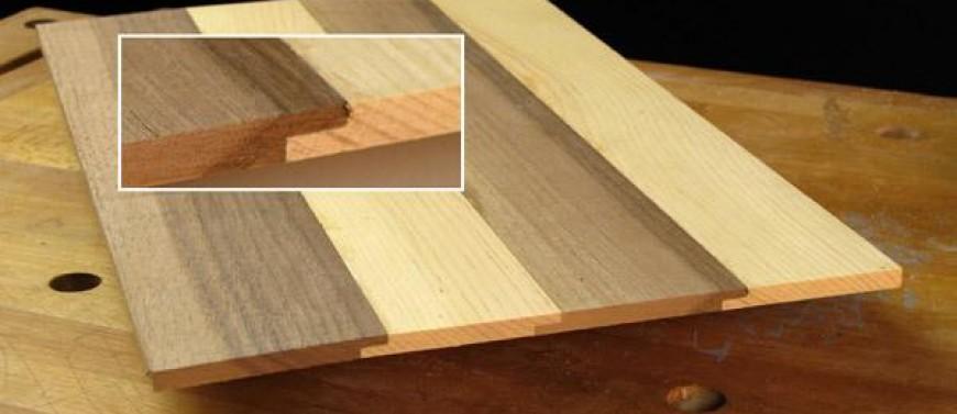 Как срастить мебельный щит своими руками 17