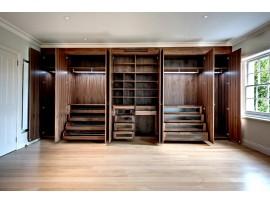 Встроенный шкаф из мебельных щитов своими руками: технология изготовления