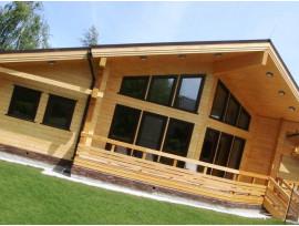 Дом из клееного бруса – это гарантия экологической чистоты