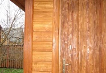 Дверь из клеенной лиственницы