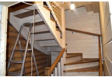 Комплектующие для лестницы из дуба