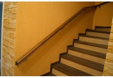 Лестница и перила из дуба
