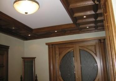 Отделка помещения с использованием мебельного щита из дуба