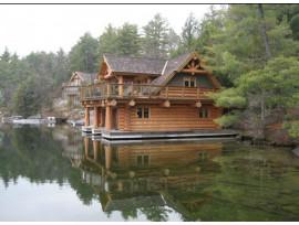 Преимущества домов из лиственницы