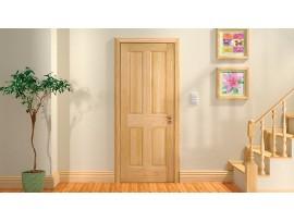 Можно ли использовать сосну для изготовления двери?