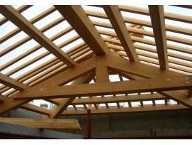 Расход пиломатериала для создания деревянной крыши