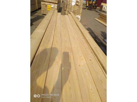 Палубная доска лиственница 28мм АВ от 4х метров